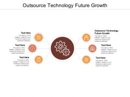 Outsource Technology Future Growth Ppt Powerpoint Show Slide Portrait Cpb
