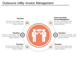 Outsource Utility Invoice Management Ppt Powerpoint Presentation Icon Designs Cpb