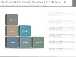 Outsourced Accounting Services Ppt Sample File