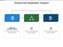 Outsourced Application Support Ppt Powerpoint Presentation Gallery Background Cpb
