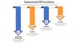Outsourced HR Functions Ppt Powerpoint Presentation Outline Slide Download Cpb