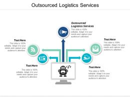 Outsourced Logistics Services Ppt Powerpoint Presentation Icon Example Cpb