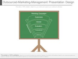 Outsourced Marketing Management Presentation Design
