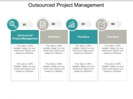 Outsourced Project Management Ppt Powerpoint Presentation Portfolio Layout Cpb