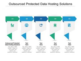 Outsourced Protected Data Hosting Solutions Ppt Powerpoint Presentation Ideas Example Cpb