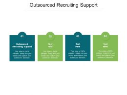 Outsourced Recruiting Support Ppt Powerpoint Presentation Pictures Show Cpb