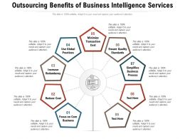 Outsourcing Benefits Of Business Intelligence Services