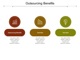 Outsourcing Benefits Ppt Powerpoint Presentation Gallery Icon Cpb