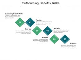 Outsourcing Benefits Risks Ppt Powerpoint Presentation Show Skills Cpb