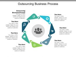 Outsourcing Business Process Ppt Powerpoint Presentation Layouts Influencers Cpb