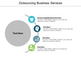 Outsourcing Business Services Ppt Powerpoint Presentation Icon Sample Cpb