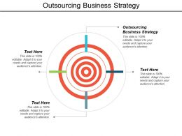Outsourcing Business Strategy Ppt Powerpoint Presentation Model Show Cpb
