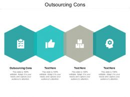 Outsourcing Cons Ppt Powerpoint Presentation File Graphics Cpb