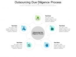 Outsourcing Due Diligence Process Ppt Powerpoint Presentation Styles Show Cpb