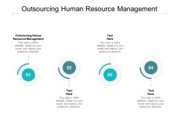 Outsourcing Human Resource Management Ppt Powerpoint Presentation Gallery Cpb