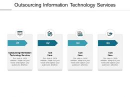 Outsourcing Information Technology Services Ppt Powerpoint Presentation Show Cpb