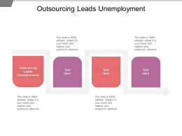 Outsourcing Leads Unemployment Ppt Powerpoint Presentation Model Cpb