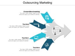 Outsourcing Marketing Ppt Powerpoint Presentation Icon Shapes Cpb