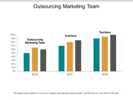 Outsourcing Marketing Team Ppt Powerpoint Presentation Inspiration Graphics Pictures Cpb