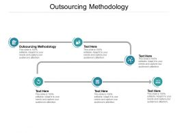 Outsourcing Methodology Ppt Powerpoint Presentation Icon Structure Cpb