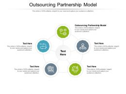Outsourcing Partnership Model Ppt Powerpoint Presentation Portfolio Guide Cpb