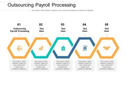Outsourcing Payroll Processing Ppt Powerpoint Presentation Model Templates Cpb