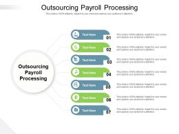 Outsourcing Payroll Processing Ppt Powerpoint Presentation Pictures Microsoft Cpb