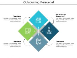 Outsourcing Personnel Ppt Powerpoint Presentation Model Slide Cpb