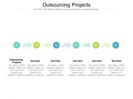 Outsourcing Projects Ppt Powerpoint Presentation Pictures Brochure Cpb