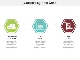 Outsourcing Pros Cons Ppt Powerpoint Presentation Outline Mockup Cpb