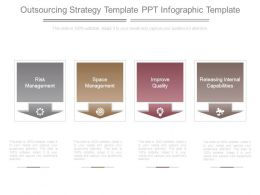 Outsourcing Strategy Template Ppt Infographic Template
