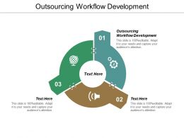 Outsourcing Workflow Development Ppt Powerpoint Presentation File Portrait Cpb