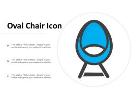 Oval Chair Icon