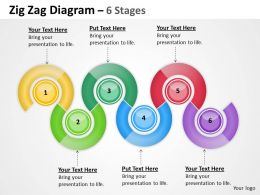 Oval Diagram 6 Stages 4