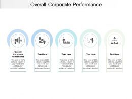 Overall Corporate Performance Ppt Powerpoint Presentation Outline Deck Cpb