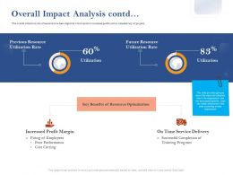Overall Impact Analysis Utilization Ppt Powerpoint Presentation Styles Portrait