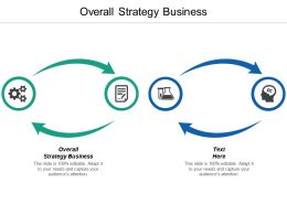 Overall Strategy Business Ppt Powerpoint Presentation Model Infographics Cpb