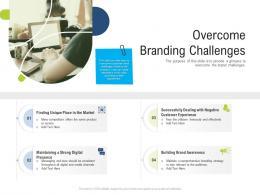 Overcome Branding Challenges Brand Upgradation Ppt Mockup