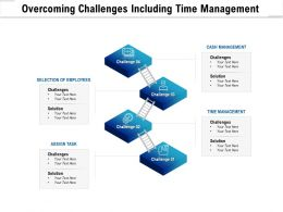 Overcoming Challenges Including Time Management