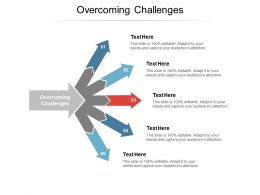 Overcoming Challenges Ppt Powerpoint Presentation Show Aids Cpb