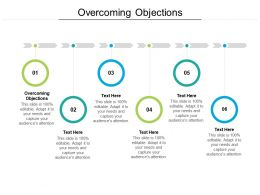 Overcoming Objections Ppt Powerpoint Presentation Slides Graphics Design Cpb
