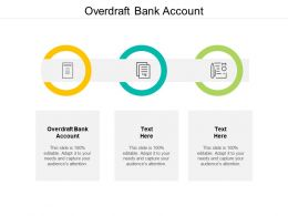 Overdraft Bank Account Ppt Powerpoint Presentation Gallery Designs Cpb