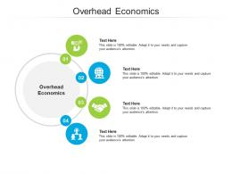 Overhead Economics Ppt Powerpoint Presentation Professional Demonstration Cpb