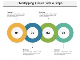 Overlapping Circles With 4 Steps