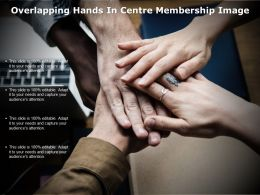 Overlapping Hands In Centre Membership Image