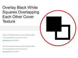 Overlay Black White Squares Overlapping Each Other Cover Texture