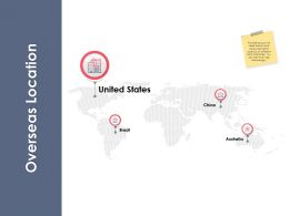 Overseas Location Ppt Powerpoint Presentation File Design Templates