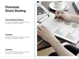 Overseas Share Dealing Ppt Powerpoint Presentation Visual Aids Inspiration Cpb