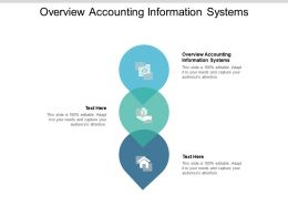Overview Accounting Information Systems Ppt Powerpoint Presentation Pictures Samples Cpb