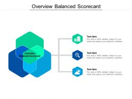 Overview Balanced Scorecard Ppt Powerpoint Presentation File Clipart Images Cpb